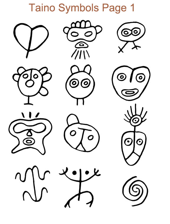 The gallery for --> Dominican Taino Symbols