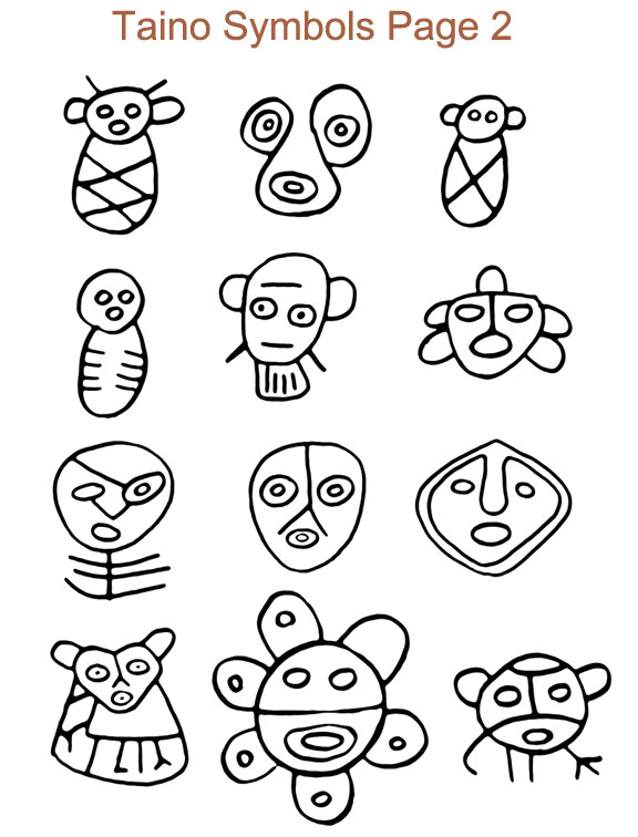 Petroglyph Symbols And Meaning Clipart Library