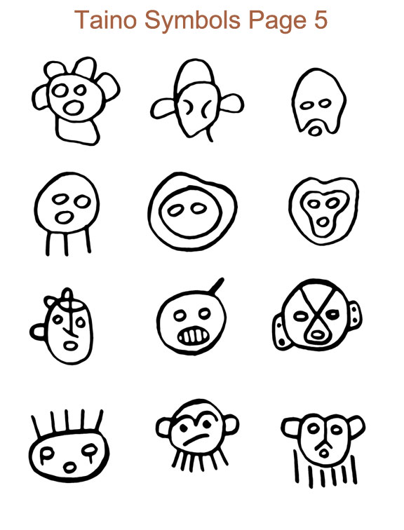 The gallery for --> Dominican Taino Symbols